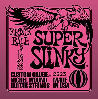 Ernie Ball Super Slinkys